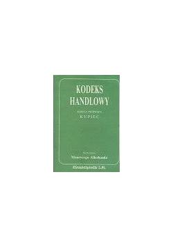 Kodeks handlowy, księga I- kupiec