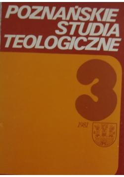 Poznańskie studia teologiczne