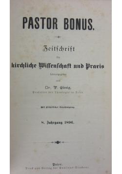 Pastor bonus. 1896r.