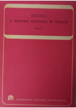 Studia z historii kościoła w Polsce