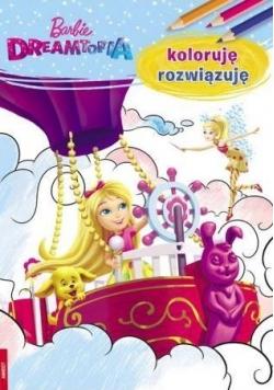 Koloruję rozwiązuję. Barbie Dreamtopia w.2017