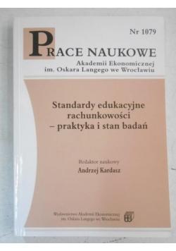 Standardy edukacyjne rachunkowości-praktyka i stan badań