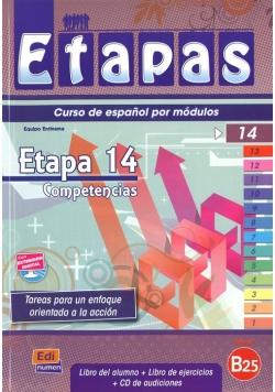Etapas 14 Podręcznik + ćwiczenia + CD
