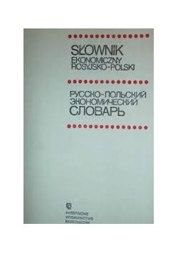 Słownik ekonomiczny rosyjsko-polski