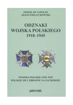 Odznaki wojska polskiego 1918-1945