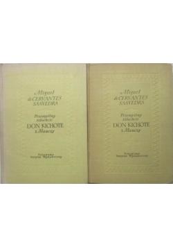 Przemyślny szlachcic Don Kichote z Manczy, t. 1-2