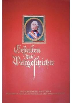 Gestalten der Weltgeschichte, 1933 r.