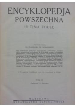 Encyklopedia powszechna, tom III, 1930 r.