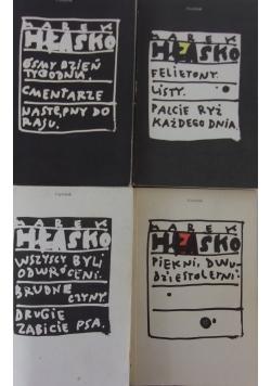 Hłasko, Utwory wybrane, tom 2-5, zestaw 4 książek