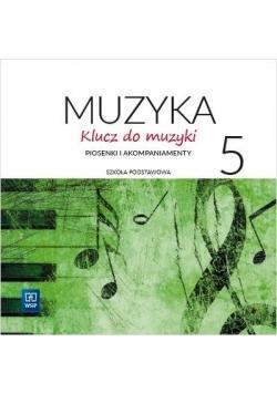 Muzyka SP 5 Klucz do muzyki 2 CD WSiP