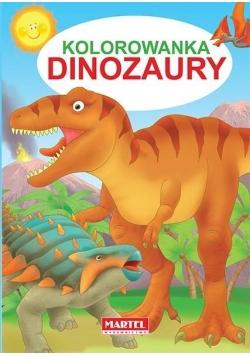 Kolorowanka. Dinozaury