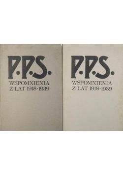 P.P.S. Wspomnienia z lat 1918-1939, Tom I-II