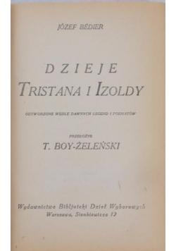 Dzieje Tristana i Izoldy,1925r