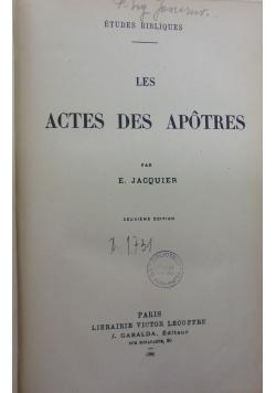 Les Actes Des Apotres, 1926 r.