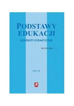 Podstawy edukacji, konteksty dydaktyczne