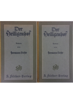 Der Heiligenhof, 1920r. Tom I i II