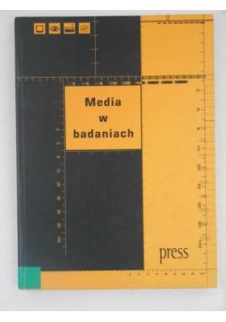 Media w badaniach