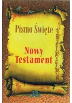 Pismo święte Nowy testament - mały okleina OLSZTYN