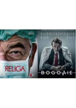 Religa / Bogowie (film DVD). Pakiet