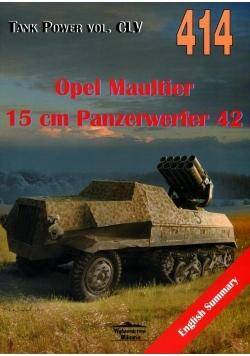 Opel Maultier 15 cm Panzerwerfer 42 vol. 414