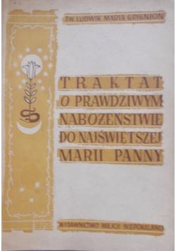Traktat o prawdziwym nabożeństwie do najświętszej Marii Panny, 1948 r.