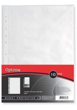 Koszulki na arkusze A4 U 40MY/10szt OPTIMA