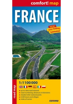 France road map 1:1 100 000, Nowa