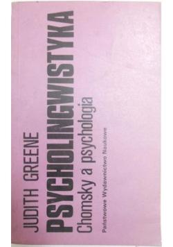 Psycholingwistyka. Chomsky a psychologia