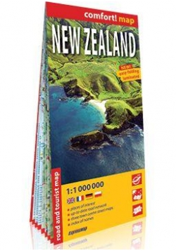 comfort! map New Zealand