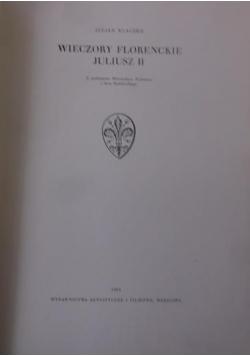 Wieczory florenckie. Juliusz II