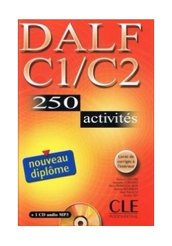 DALF C1/C2 250 activites Nouveau diplome Książka + CD