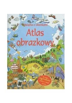 Atlas obrazkowy Książka z okienkami