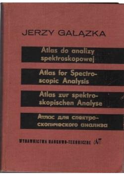 Atlas do analizy spektroskopowej