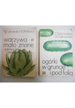 Ogórki w gruncie i pod folią/Warzywa mało znane