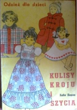 Kulisy kroju i szycia, odzież dla dzieci