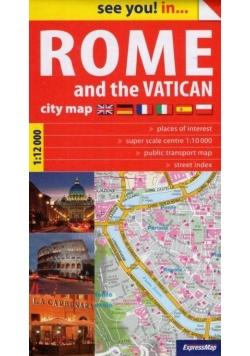 See you! in...Rzym i Watykan plan miasta