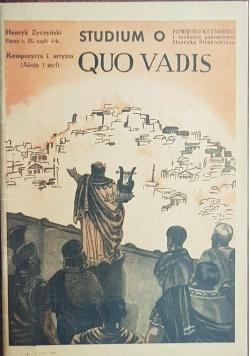 Studium o Quo Vadis, 1947 r.