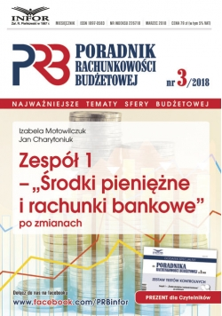 Zespół 1 - Środki pieniężne i rachunki bankowe po zmianach