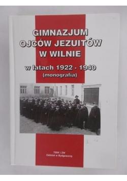 Gimnazjum Ojców Jezuitów w Wilnie w latach 1922-1940