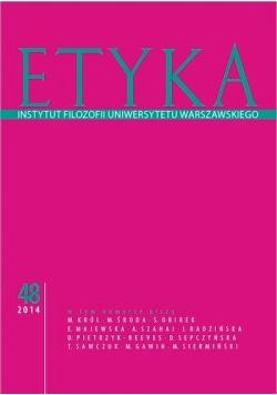 Etyka Instytut Filozofii Uniwersytetu Warszawskiego Nr 48, Nowa