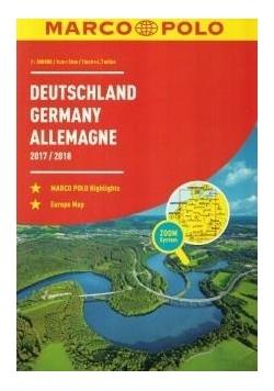 Atlas Marco Polo. Niemcy 1:300 000