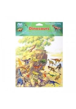 Naklejki Family Dinozaury