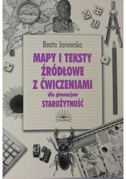 Mapy i teksty żródłowe z ćwiczeniami dla gimnazjum-Starożytność