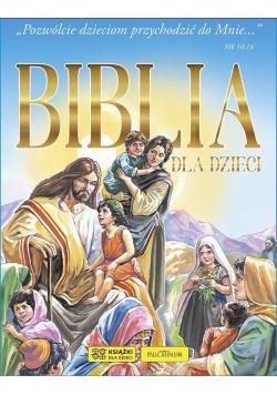 Biblia dla dzieci (niebieska)
