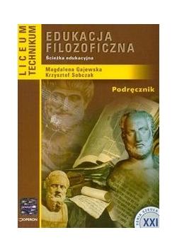 Edukacja filozoficzna podręcznik
