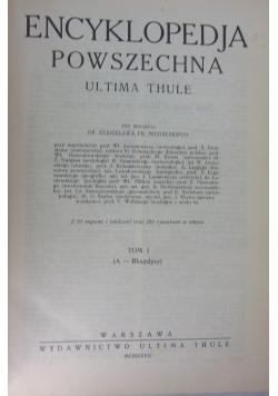 Encyklopedia powszechna. Ultima Thule. 1927 r.