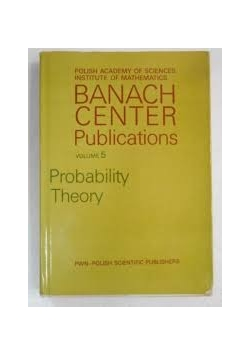 Banach center Publications Volume 5