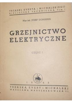 Grzejnictwo elektryczne, 1948r.
