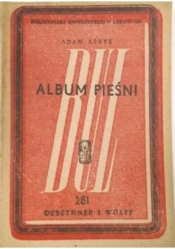 Asnyk Adam - Album pieśni, ok. 1930 r.