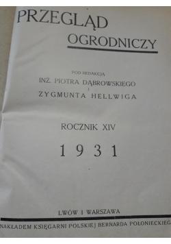 Przeglad ogrodniczy , 1931 r.